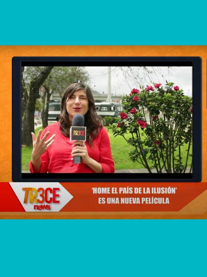 """Canal Trece - Entrevista sobre """"Home - el país de la ilusión"""", Colombia"""
