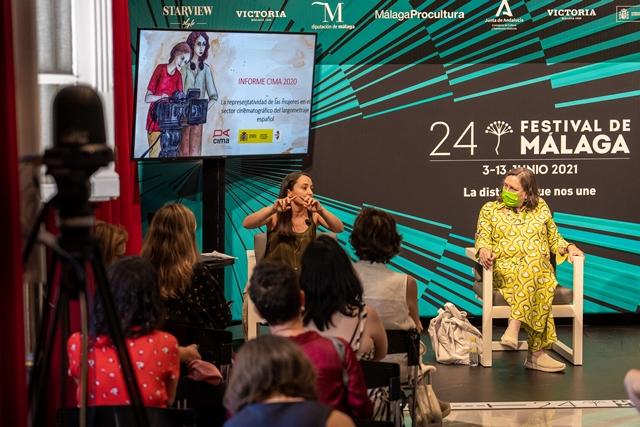 Reporte anual de CIMA sobre la representatividad de la mujeres en el cine en España